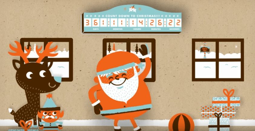 Web Commercial Christmas Book Promo | Sad Santa