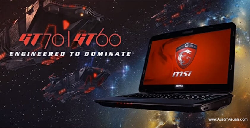 Gaming Laptop Global Product Ad | Custom 3D Animated Commercial | Client (MSI) Micro-Star International