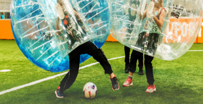 Bubble Soccer Event Promo