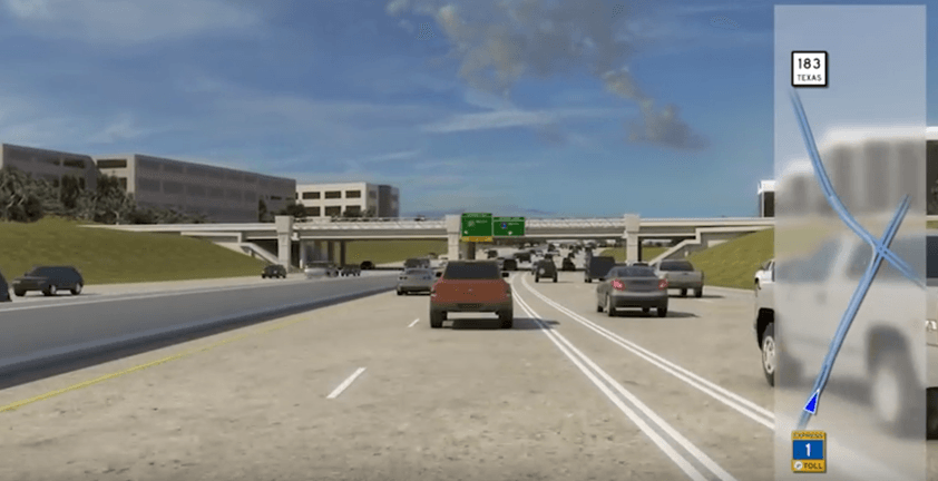 Austin TX Highway Improvement Public Educational Animated Video | Client CTRMA and HNTB
