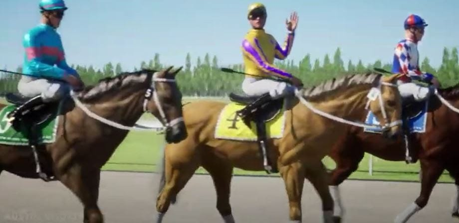 Custom Race Horse Derby - Click to View Video