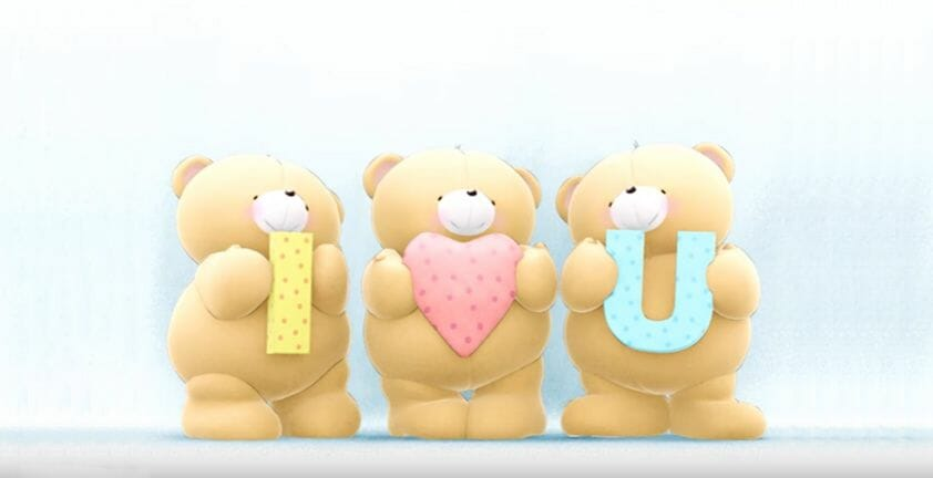 Custom 3D Animated Message | Dancing Bears | Client Hallmark