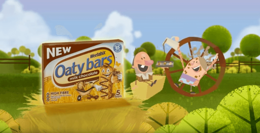 Oaty Bars TV Commercial | Client Nickelodeon